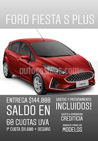 Foto venta Auto usado Ford Fiesta Kinetic Sedan S Plus (2019) precio $144.000