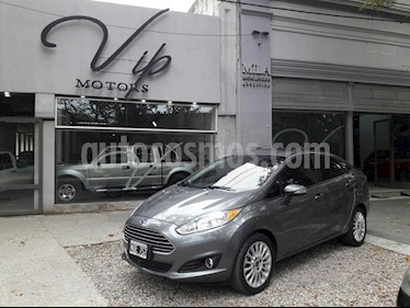 Foto venta Auto usado Ford Fiesta Kinetic Sedan SE Plus  (2014) color Gris Oscuro precio $370.000