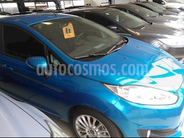 Ford Fiesta Kinetic Sedan SE Plus  usado (2017) color Azul Celeste precio $430.000