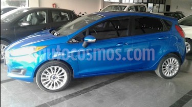 Foto venta Auto usado Ford Fiesta Kinetic Sedan SE Plus  (2014) color Azul Celeste