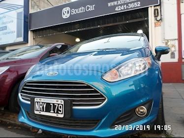 Foto venta Auto usado Ford Fiesta Kinetic Sedan SE Plus  (2014) color Azul Celeste precio $409.000