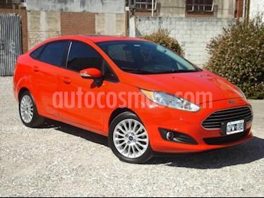 Foto venta Auto usado Ford Fiesta Kinetic Sedan SE Plus  (2014) color Rojo precio $192.000