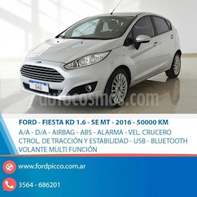 Foto venta Auto usado Ford Fiesta Kinetic Sedan SE Plus  (2016) color Gris Claro precio $465.000