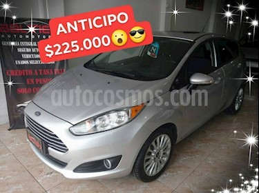 Foto venta Auto usado Ford Fiesta Kinetic Sedan SE Plus  (2014) color Gris Claro precio $225.000