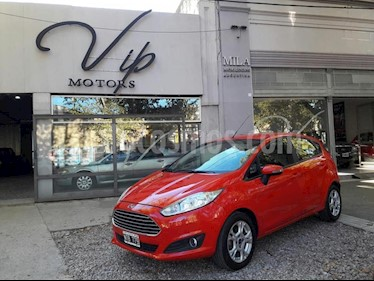 Foto venta Auto usado Ford Fiesta Kinetic Sedan SE Plus  (2014) color Rojo precio $360.000