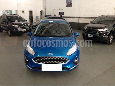 Foto venta Auto usado Ford Fiesta Kinetic Sedan SE Plus  (2019) color Azul Mediterraneo precio $833.000