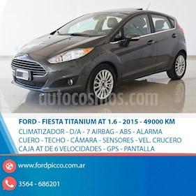 Foto venta Auto usado Ford Fiesta Kinetic Sedan Titanium Aut (2015) color Gris Oscuro precio $545.000