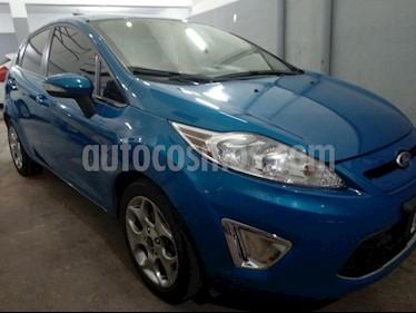 Foto venta Auto usado Ford Fiesta Kinetic Sedan Titanium Aut (2012) color Azul Celeste precio $295.000