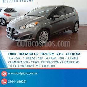 Foto venta Auto usado Ford Fiesta Kinetic Sedan Titanium Aut (2013) color Gris Oscuro precio $445.000