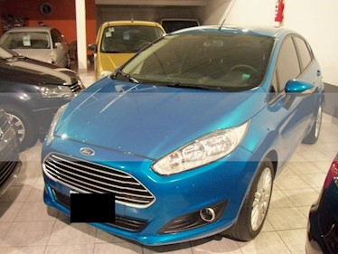 Foto venta Auto usado Ford Fiesta Kinetic - (2014) color Azul precio $359.900