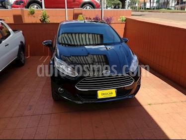 Foto venta Auto Usado Ford Fiesta Kinetic - (2014) color Negro precio $370.000