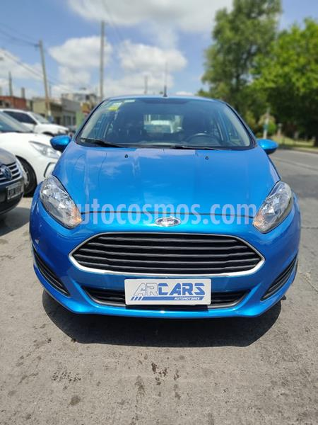 Ford Fiesta Kinetic S usado (2015) color Azul Mediterraneo precio $960.000