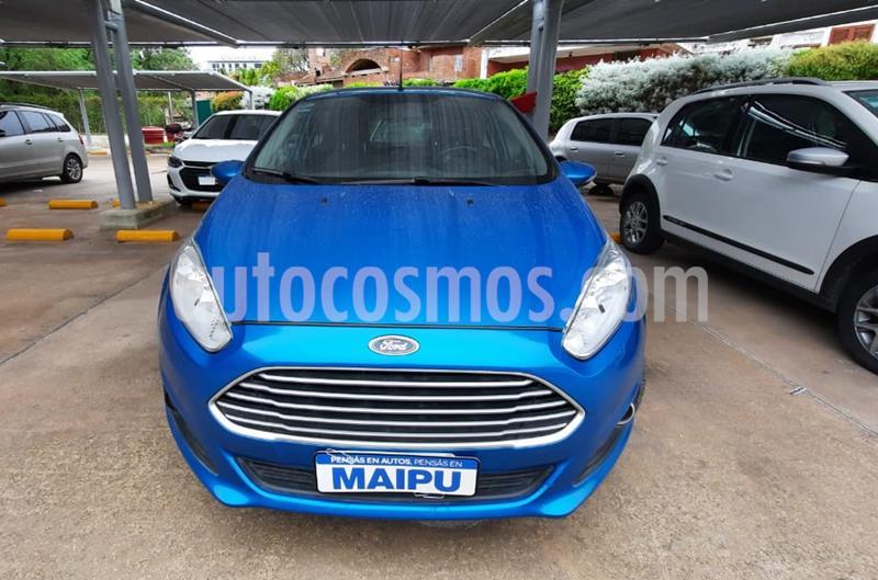 Ford Fiesta Kinetic SE  usado (2016) color Azul precio $990.000
