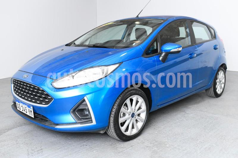 Ford Fiesta Kinetic SE  usado (2018) color Azul precio $900.000