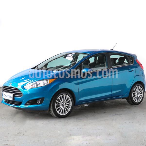 Ford Fiesta Kinetic Titanium usado (2017) color Azul Mediterraneo precio $937.000