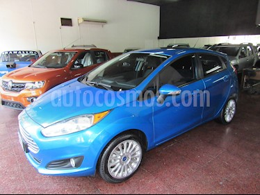 Ford Fiesta Kinetic SE Plus Powershift usado (2014) color Azul precio $589.800