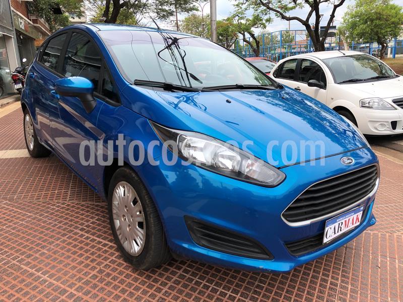 Ford Fiesta Kinetic S usado (2018) color Azul precio $1.059.990