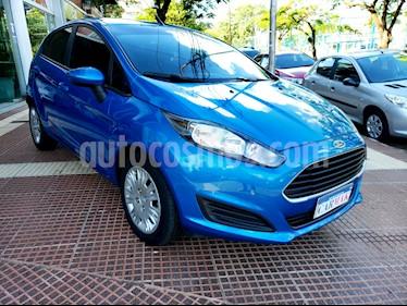 Ford Fiesta Kinetic S usado (2016) color Azul precio $499.990