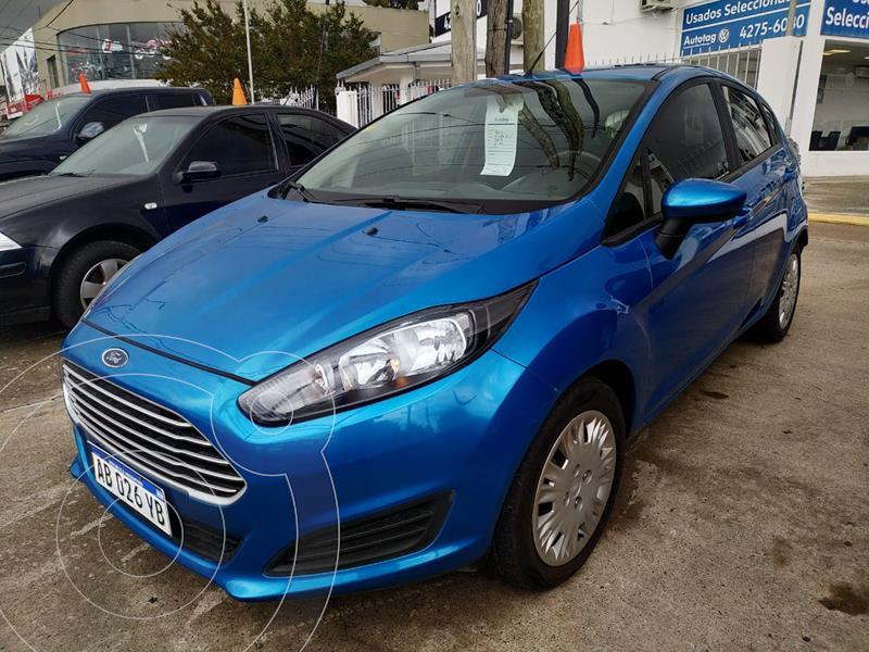 Foto Ford Fiesta Kinetic S usado (2017) color Azul Mediterraneo precio $1.160.000