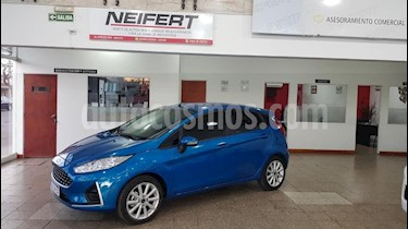 Ford Fiesta Kinetic SE  usado (2019) color Azul Celeste precio $880.000