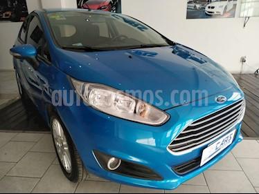 Ford Fiesta Kinetic SE  usado (2014) color Azul Mediterraneo precio $510.000