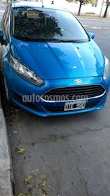 Ford Fiesta Kinetic S Plus usado (2015) color Azul Mediterraneo precio $445.000