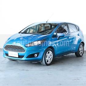 Ford Fiesta Kinetic S Plus usado (2017) color Azul Mediterraneo precio $595.000