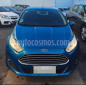 Ford Fiesta Kinetic SE  usado (2017) color Azul Mediterraneo precio $1.029.900