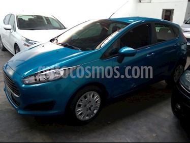 Ford Fiesta Kinetic S usado (2015) color Azul Mediterraneo precio $598.000