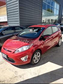 Ford Fiesta Kinetic Titanium usado (2012) color Rojo Sport precio $555.000