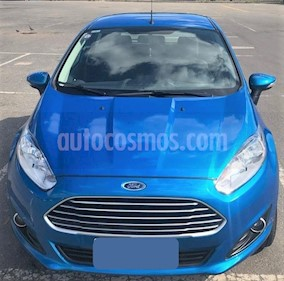 Ford Fiesta Kinetic SE Plus Powershift usado (2018) color Azul precio $725.000