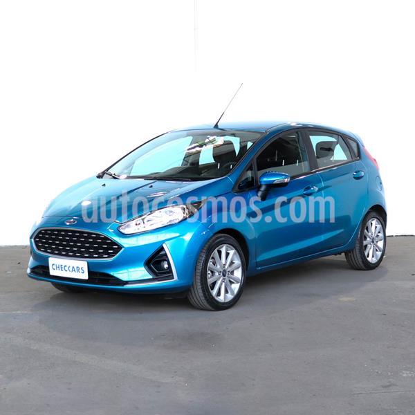 Ford Fiesta Kinetic SE Plus usado (2018) color Azul Mediterraneo precio $1.041.000