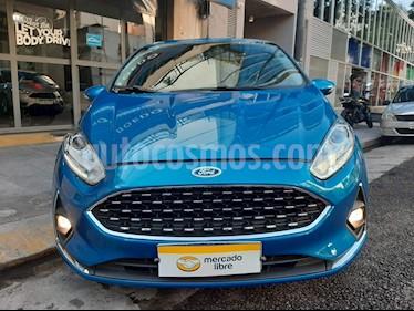Ford Fiesta Kinetic - usado (2018) color Azul precio $849.900