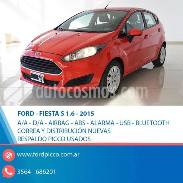 Ford Fiesta Kinetic S usado (2015) color Rojo precio u$s7.650