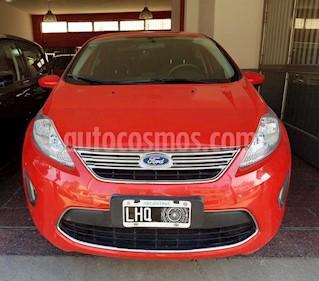 Ford Fiesta Kinetic Titanium usado (2012) color Rojo precio $440.000