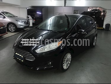 Ford Fiesta Kinetic SE Plus Powershift usado (2015) color Negro precio $599.000