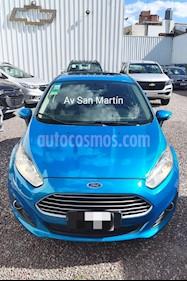 Ford Fiesta Kinetic SE Plus usado (2013) color Azul Mediterraneo precio $485.000