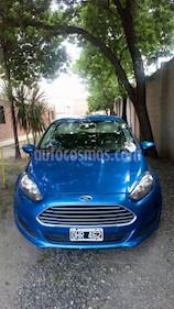Ford Fiesta Kinetic S usado (2014) color Azul Mediterraneo precio $320.000