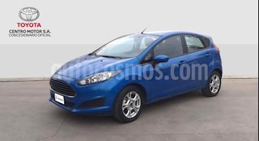 Ford Fiesta Kinetic S usado (2015) color Azul precio $460.000