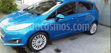 Ford Fiesta Kinetic SE Plus  usado (2014) color Azul Mediterraneo precio u$s7.500