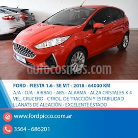 Foto venta Auto usado Ford Fiesta Kinetic SE  (2018) color Rojo precio $585.000
