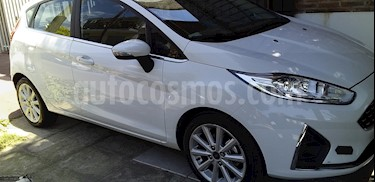 Ford Fiesta Kinetic Titanium Aut usado (2018) color Blanco Oxford precio $750.000