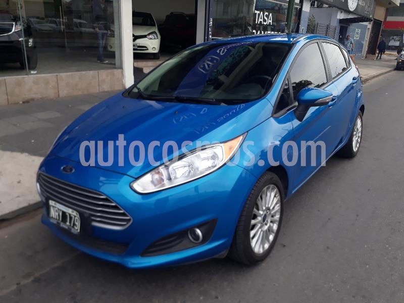 Ford Fiesta One Edge Plus usado (2014) color Azul Celeste precio $710.000