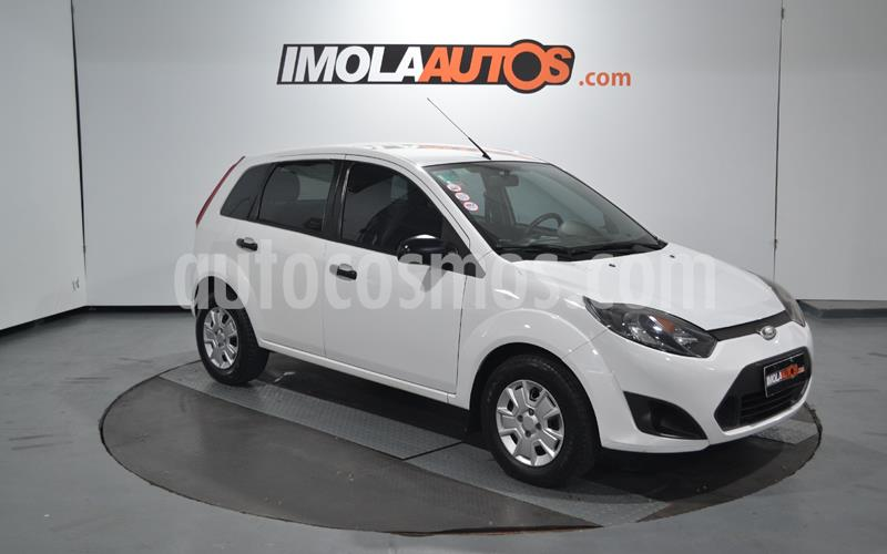 Ford Fiesta One Edge Plus usado (2013) color Blanco Oxford precio $460.000