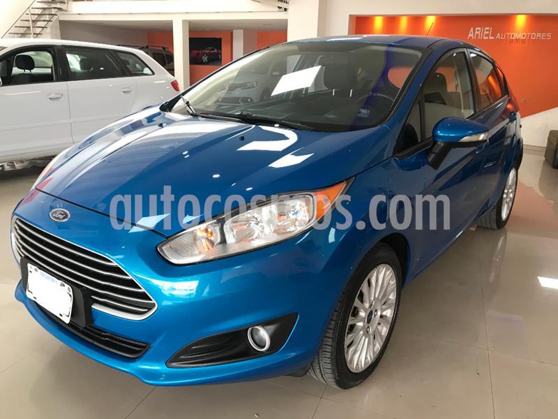 Ford Fiesta One Edge Plus usado (2014) color Azul Celeste precio $759.000