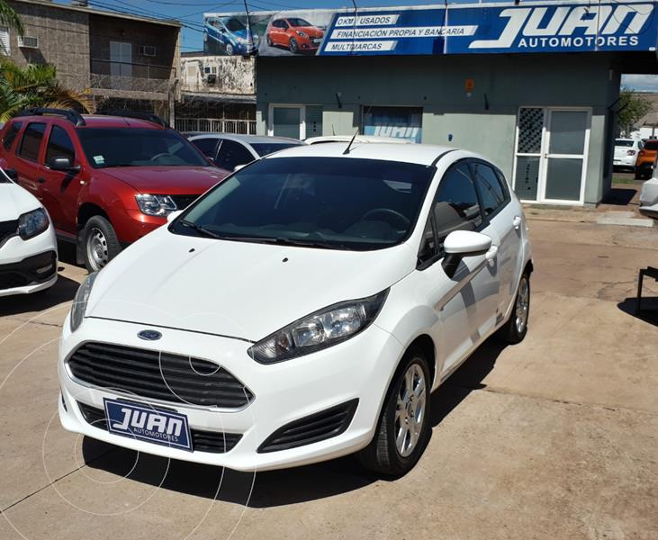 Ford Fiesta One Edge Plus usado (2016) color Blanco precio $1.160.000