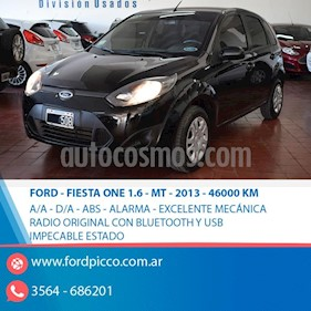 Foto venta Auto usado Ford Fiesta One Edge Plus (2012) color Negro