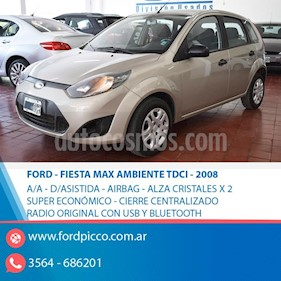 Ford Fiesta One Edge TDCi usado (2008) color Beige