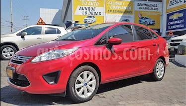 Foto venta Auto usado Ford Fiesta Sedan 4p SE L4/1.6 Man (2011) color Rojo precio $108,900