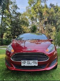 Ford Fiesta Sedan 1.6 SE  usado (2016) color Rojo precio $5.900.000